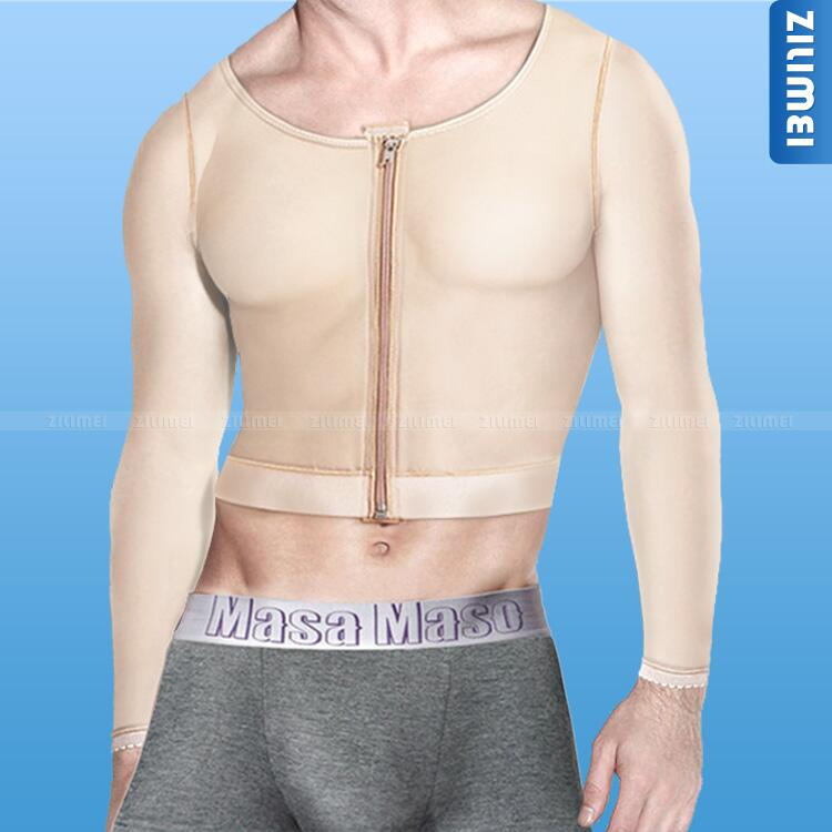 Men's long sleeve shoulder bra